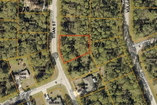 Titan Street, North Port, FL 34286 (MLS #C7415763) :: Premium Properties Real Estate Services