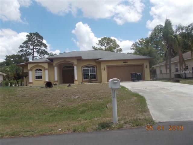 1506 Squaw Lane, North Port, FL 34286 (MLS #C7415880) :: Medway Realty