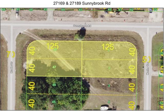 27169 & 27189 Sunnybrook Road, Punta Gorda, FL 33983 (MLS #C7416011) :: Sarasota Gulf Coast Realtors