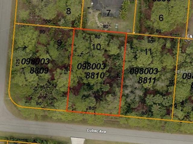 Lubec Avenue, North Port, FL 34287 (MLS #C7416257) :: Cartwright Realty