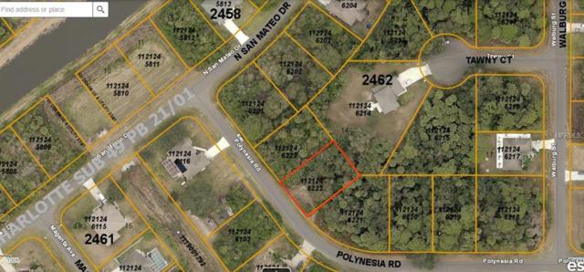 Lot 22 Polynesia Road, North Port, FL 34288 (MLS #C7416343) :: The Duncan Duo Team