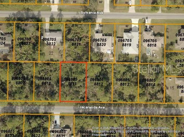 Jacaranda Avenue, North Port, FL 34291 (MLS #C7416634) :: Cartwright Realty