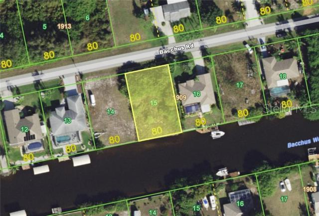 12812 Bacchus Road, Port Charlotte, FL 33981 (MLS #C7416739) :: Premium Properties Real Estate Services