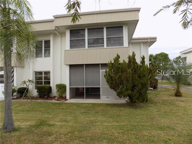 21267 Gertrude Avenue #107, Port Charlotte, FL 33952 (MLS #C7416768) :: The Edge Group at Keller Williams