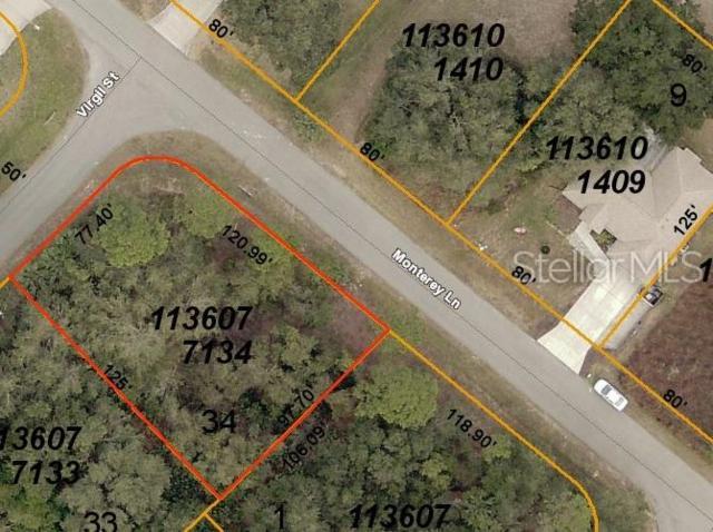 Lot 34 Monterey Lane, North Port, FL 34288 (MLS #C7417053) :: The Duncan Duo Team