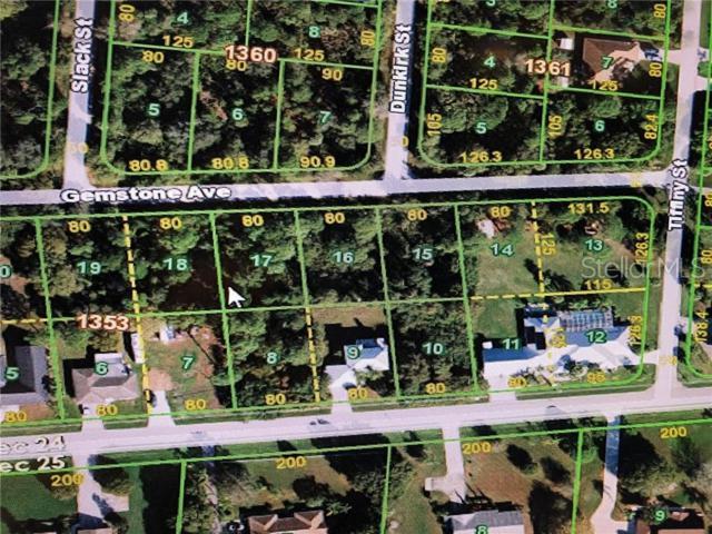 23467 Gemstone Avenue, Port Charlotte, FL 33980 (MLS #C7417088) :: The Duncan Duo Team