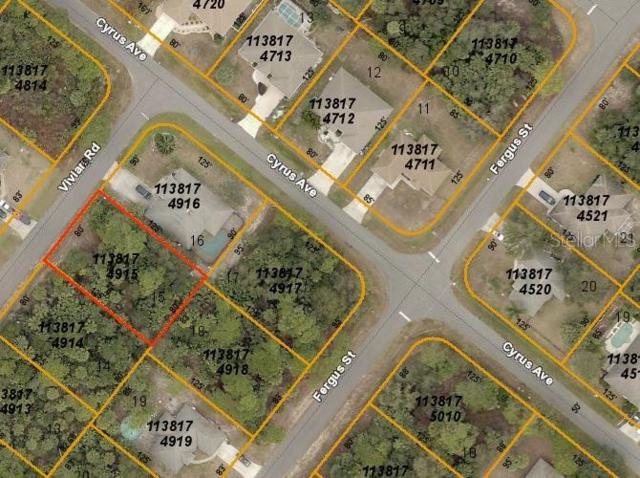 Vivian Road, North Port, FL 34288 (MLS #C7417204) :: The Edge Group at Keller Williams