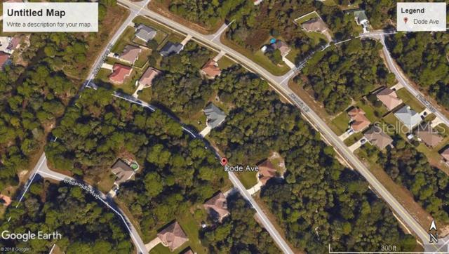 Dode Avenue, North Port, FL 34288 (MLS #C7417252) :: The Edge Group at Keller Williams
