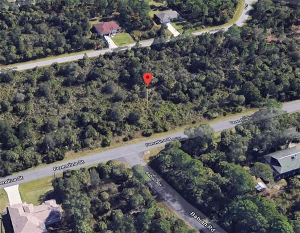 Ferendina Street, North Port, FL 34291 (MLS #C7417317) :: Dalton Wade Real Estate Group