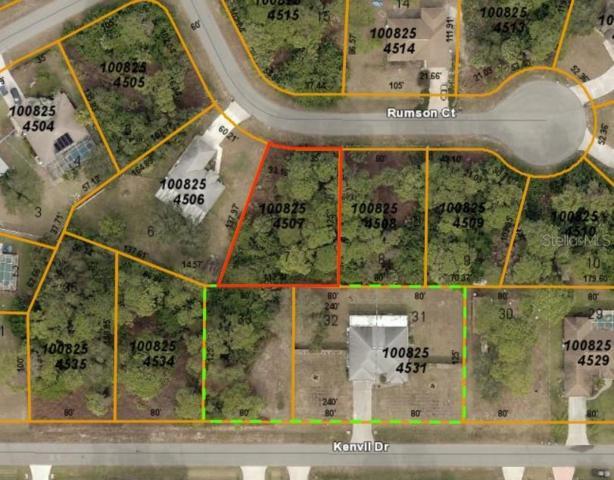 Rumson Court, North Port, FL 34288 (MLS #C7417723) :: Team Bohannon Keller Williams, Tampa Properties