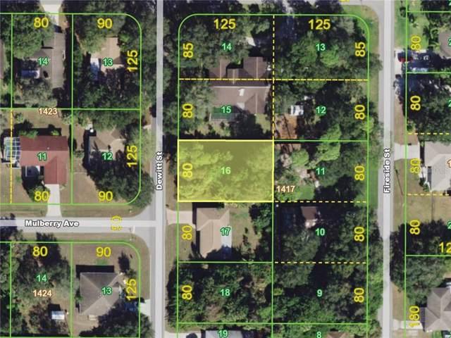 1450 Dewitt Street, Port Charlotte, FL 33952 (MLS #C7419026) :: Dalton Wade Real Estate Group