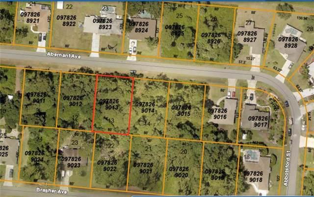 Abernant Avenue, North Port, FL 34287 (MLS #C7420436) :: Burwell Real Estate