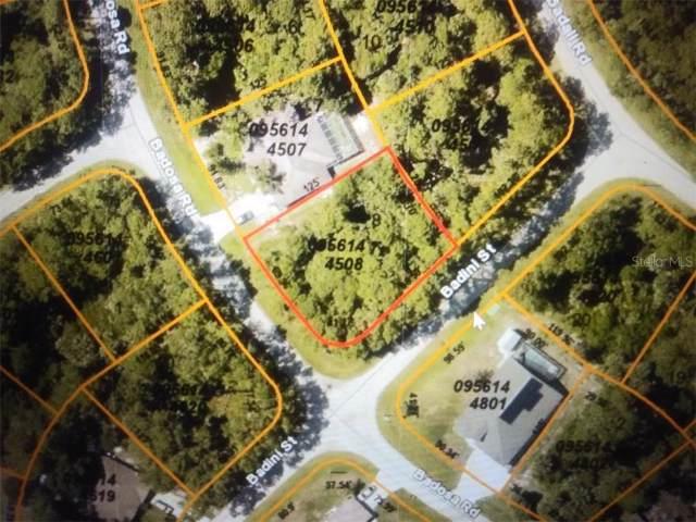 Badini Street, North Port, FL 34286 (MLS #C7421087) :: Team Bohannon Keller Williams, Tampa Properties