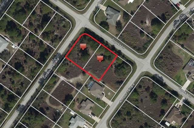Lot 10 & 11 Topeka Lane, North Port, FL 34291 (MLS #C7421662) :: The Duncan Duo Team