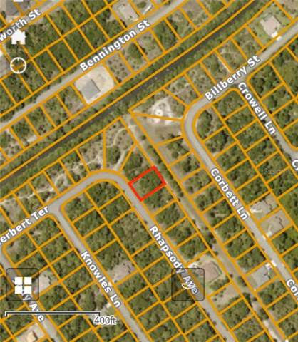 Rhapsody Avenue, North Port, FL 34288 (MLS #C7422085) :: Cartwright Realty