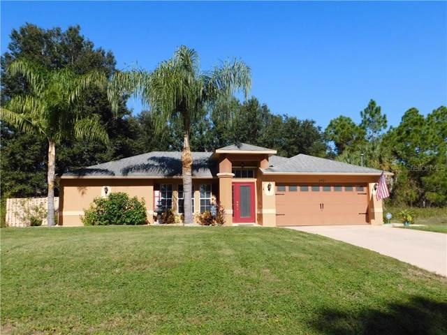 2761 Oceanside Street, North Port, FL 34286 (MLS #C7422769) :: Team Bohannon Keller Williams, Tampa Properties