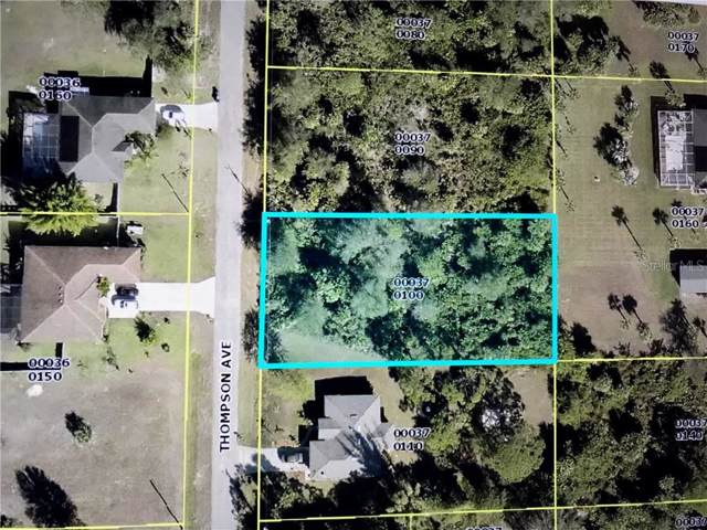 704 Thompson Avenue, Lehigh Acres, FL 33972 (MLS #C7424214) :: Alpha Equity Team