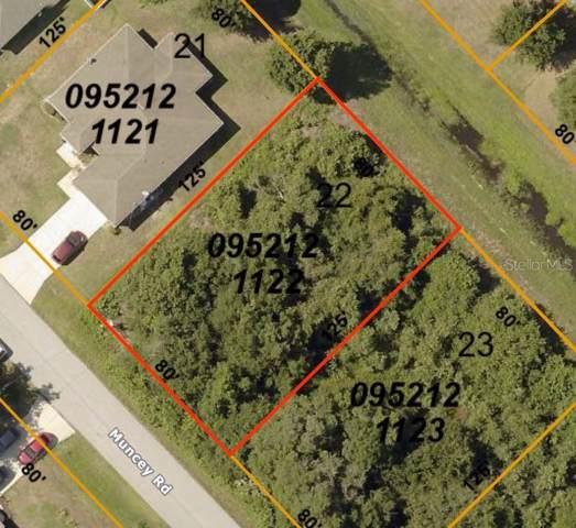 Muncey Road, North Port, FL 34291 (MLS #C7424296) :: Team Bohannon Keller Williams, Tampa Properties