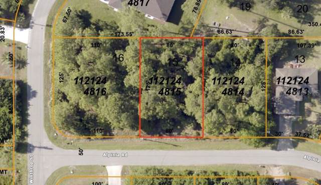 Alpinia Road, North Port, FL 34288 (MLS #C7424890) :: Team Bohannon Keller Williams, Tampa Properties