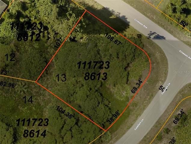 Comfort Lane, North Port, FL 34288 (MLS #C7424906) :: Team Bohannon Keller Williams, Tampa Properties