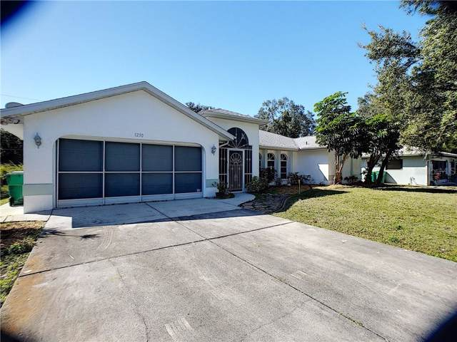 1230 Sheridan Drive NW, Port Charlotte, FL 33948 (MLS #C7424942) :: The Light Team