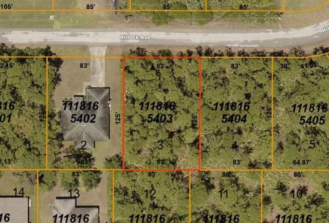 Hillock Avenue, North Port, FL 34288 (MLS #C7425008) :: Medway Realty