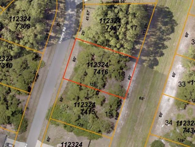 Cromey Road, North Port, FL 34288 (MLS #C7425065) :: Homepride Realty Services