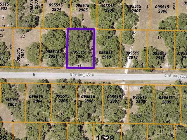 Lot 20 Nutmeg Avenue, North Port, FL 34286 (MLS #C7425164) :: CENTURY 21 OneBlue