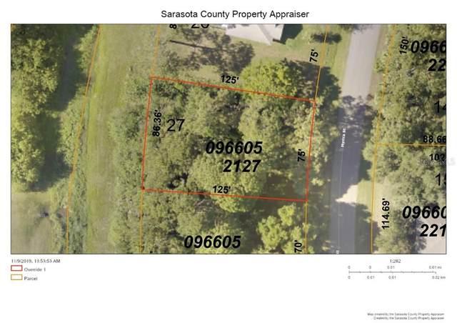 Lot 27 Myrica St, North Port, FL 34286 (MLS #C7426662) :: Pristine Properties