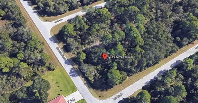 1216 Bowman Terrace, Port Charlotte, FL 33953 (MLS #C7426713) :: Lockhart & Walseth Team, Realtors