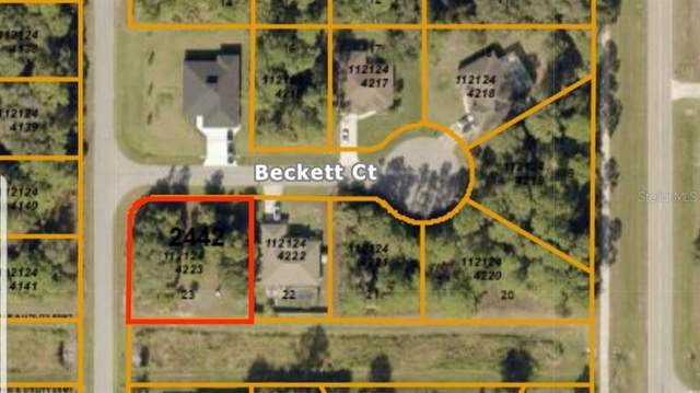 Lot 23 Beckett Court, North Port, FL 34288 (MLS #C7427660) :: The A Team of Charles Rutenberg Realty