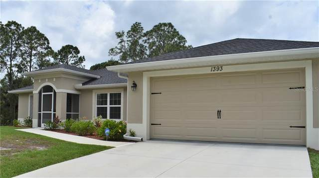 1393 Mendavia Terrace, North Port, FL 34286 (MLS #C7429214) :: Keller Williams on the Water/Sarasota