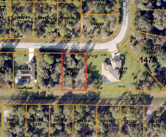 Lot 9 Abesaid Avenue, North Port, FL 34291 (MLS #C7429217) :: Prestige Home Realty