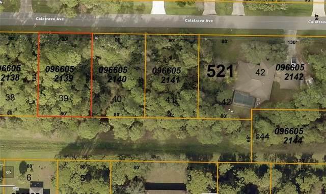 Calatrava Avenue, North Port, FL 34286 (MLS #C7429729) :: Team Bohannon Keller Williams, Tampa Properties