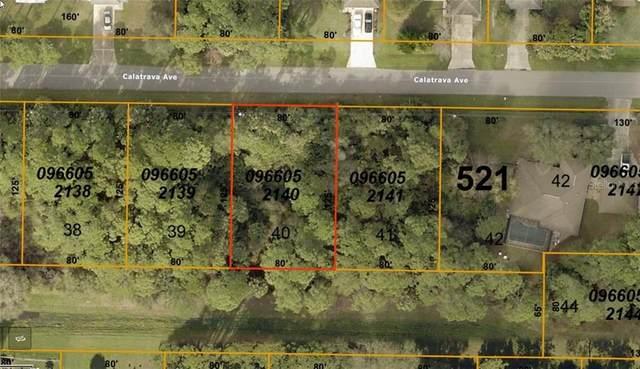 Calatrava Avenue, North Port, FL 34286 (MLS #C7429730) :: Team Bohannon Keller Williams, Tampa Properties