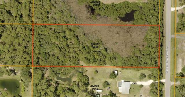 Lot 9 Ponce De Leon Boulevard, North Port, FL 34291 (MLS #C7431815) :: Lockhart & Walseth Team, Realtors