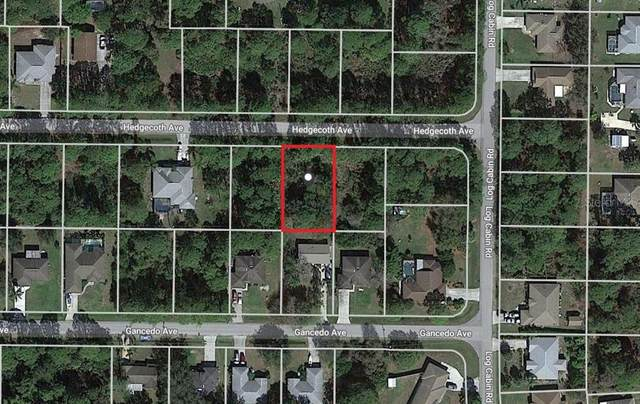 Lot 9 Hedgecoth Avenue, North Port, FL 34291 (MLS #C7432926) :: Sarasota Gulf Coast Realtors