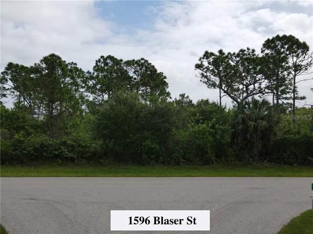 1596 Blaser Street, Port Charlotte, FL 33980 (MLS #C7433280) :: KELLER WILLIAMS ELITE PARTNERS IV REALTY