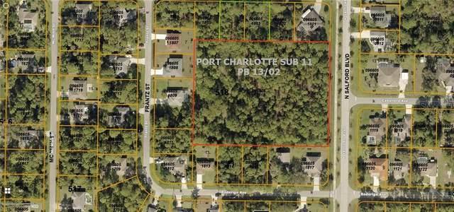 2525 N Salford Boulevard, North Port, FL 34286 (MLS #C7433586) :: Keller Williams Realty Peace River Partners