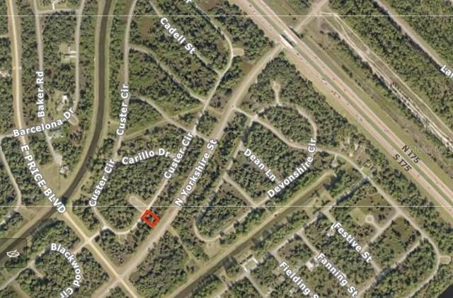 Lot 11 Custer Circle, North Port, FL 34288 (MLS #C7435043) :: Delgado Home Team at Keller Williams