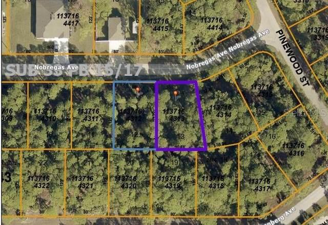 Nobregas Avenue, North Port, FL 34288 (MLS #C7436163) :: Cartwright Realty