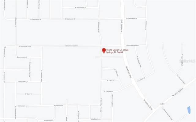 455 W Macon Lane, Citrus Springs, FL 34434 (MLS #C7436215) :: Armel Real Estate