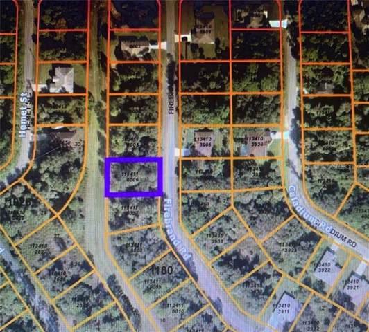 Firebrand Road, North Port, FL 34288 (MLS #C7436222) :: Baird Realty Group