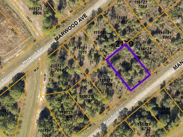 LOT 5 Mansfield Circle, North Port, FL 34288 (MLS #C7436792) :: Premier Home Experts