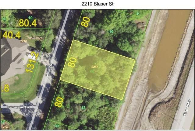 2210 Blaser Street, Port Charlotte, FL 33980 (MLS #C7437063) :: Young Real Estate