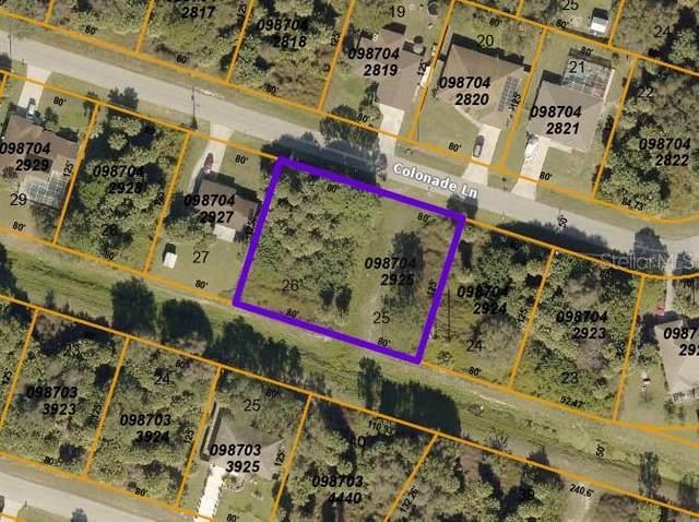 LOTS 25 & 26 Colonade Lane, North Port, FL 34286 (MLS #C7437763) :: Frankenstein Home Team