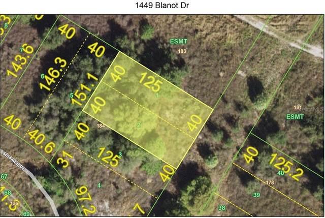 1449 Blanot Drive, Punta Gorda, FL 33983 (MLS #C7439351) :: The Robertson Real Estate Group