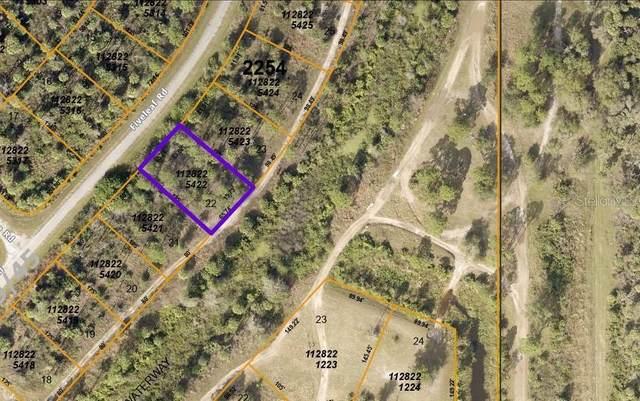 Lot 22 Fiveleaf Road, North Port, FL 34288 (MLS #C7439854) :: Premium Properties Real Estate Services