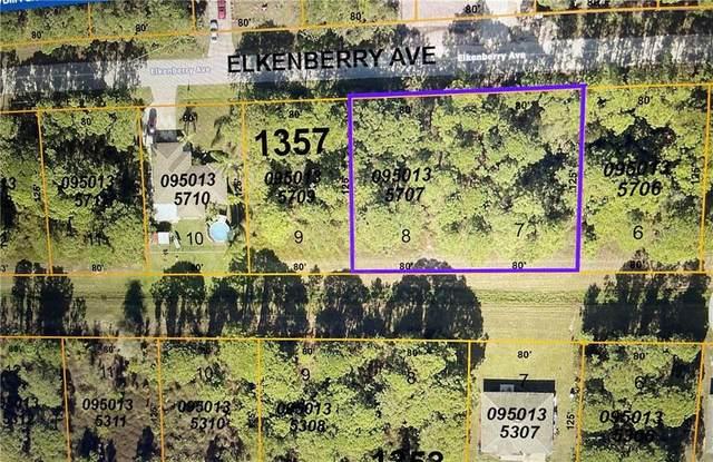 ELKENBERRY AVE LOTS  Elkenberry Avenue, North Port, FL 34291 (MLS #C7441371) :: RE/MAX Local Expert