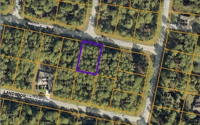 Lot 3 Heritage Avenue, North Port, FL 34288 (MLS #C7441548) :: SunCoast Home Experts